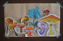 Paperland at home - Shrooms and Toadstols
