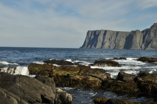 View from rock shelter: North Cape