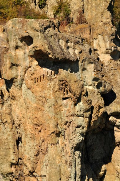 Thracian niches on the rocks (Eastern Rodopi)