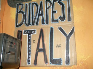 """Budapest-Italy with coffee and bike"" by Asia Der"